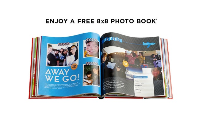 "FREE 8""x8"" 20-Page Shutterfly Hardcover Photo Book + $7.99 for Shipping at Shutterfly"