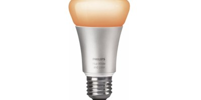 Philips Hue White and Color Ambience A19 Smart LED Bulb Multicolor