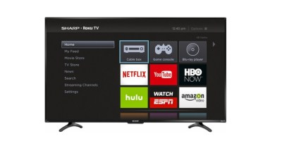 Sharp LED Smart Roku LED 1080p HDTV f
