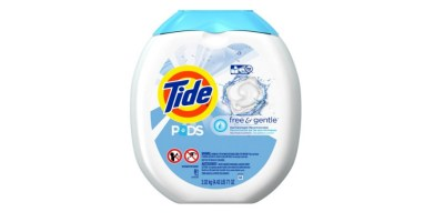 Tide PODS Free & Gentle HE Turbo Laundry Detergent Pacs Tub