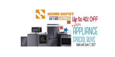 40% OFF with Appliance Special Buy