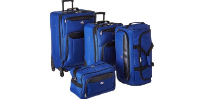 American Tourister Brookfield Navy 4 Pc Luggage Set
