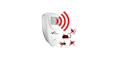 Ultrasonic Pest Repeller by Finita Pesto SAFE for Children and Pets