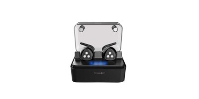 Wireless Earbuds, Syllable Truly Wireless Headphones with Charging Box Noise Cancelling Sweatproof Bluetooth Earphones
