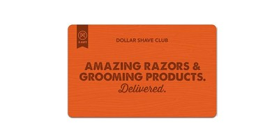 $10 off Dollar Shave Club Gift Cards (E-mail Delivery)