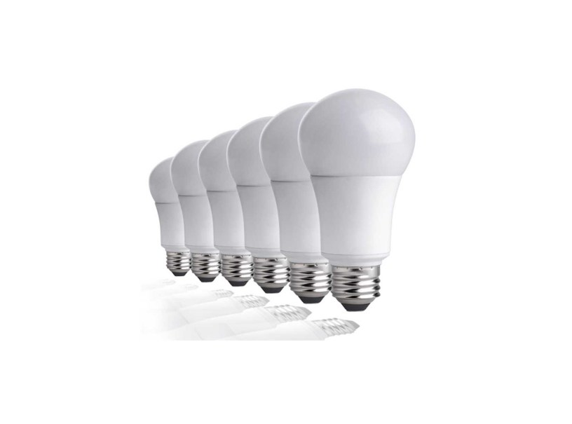 6 Pack Led Light Bulbs 60w Equivalent Non Dimmable