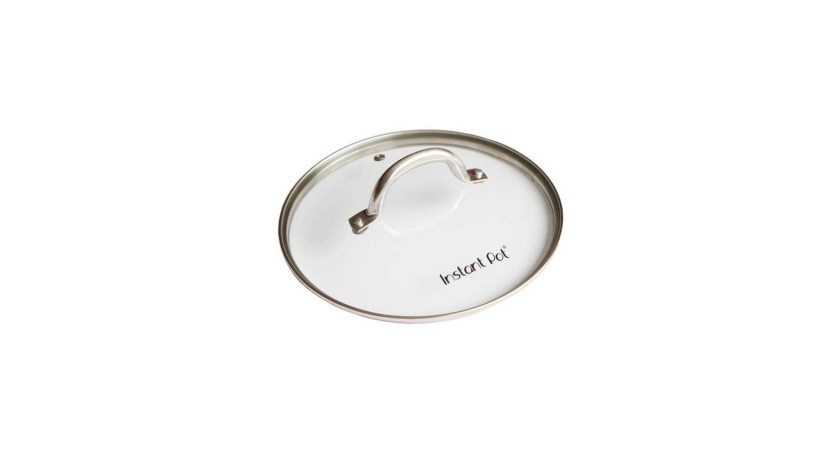 Instant Pot Tempered Glass Lid with Stainless Steel Rim and Handle