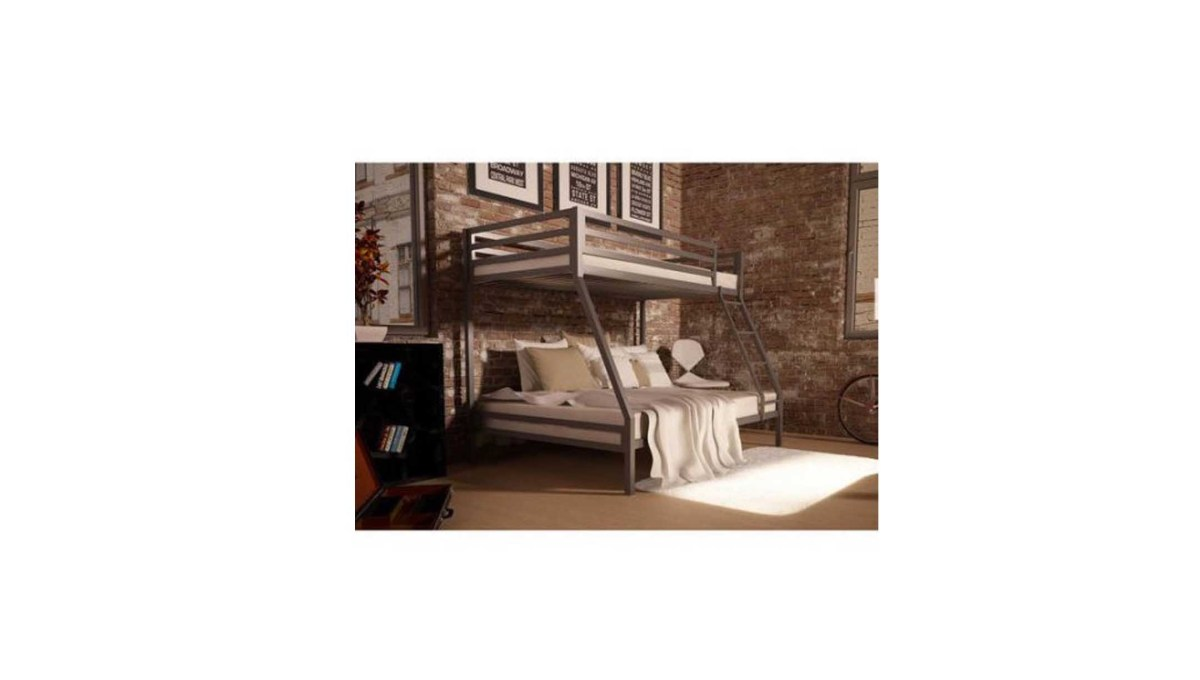 Mainstays Premium twin-over-full bunk bed for $149.00 at Walmart