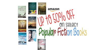 Select Popular Fiction Books up to 50% off