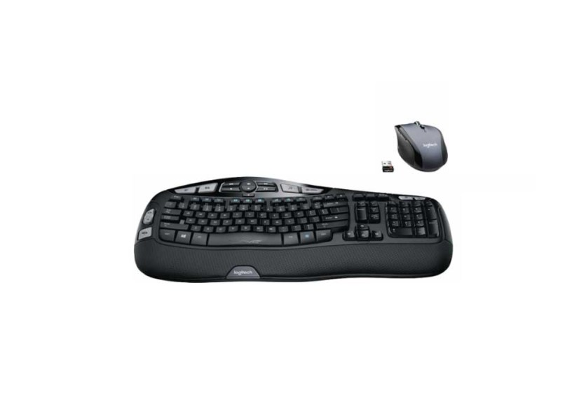 39c7cccd423 Logitech – MK570 Comfort Wave Wireless Keyboard and Optical Mouse for  $34.99 at Best Buy