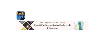 Todays Deal- Up to 80% off top nonfiction Kindle books