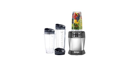 NINJA BL482 Nutri Ninja Auto-iQ for One-Touch Intelligent Nutrient & Vitamin Extraction (Certified Refurbished)