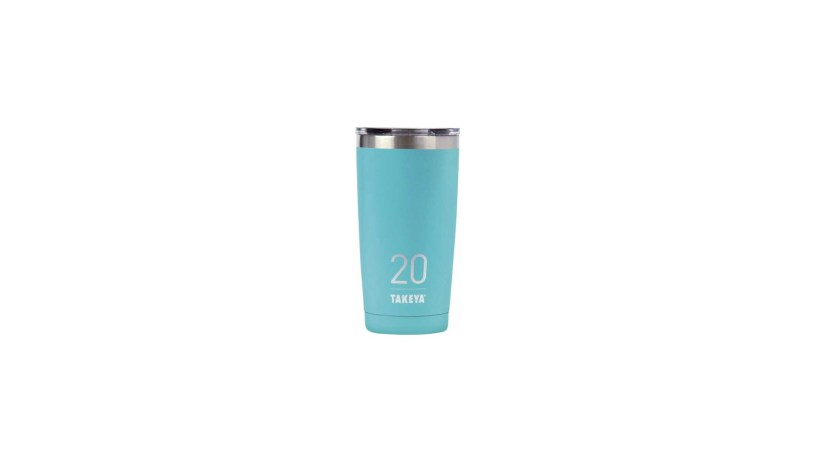 Takeya – Originals 20-Oz. Insulated Stainless Steel Tumbler with Sip Lid  (Ocean)