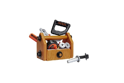 Black + Decker Junior Deluxe Tool Set with Toolbox – 42 Tools & Accessories