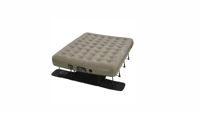 Insta Bed Ez Queen Raised Air Mattress With Neverflat For 165 39 At