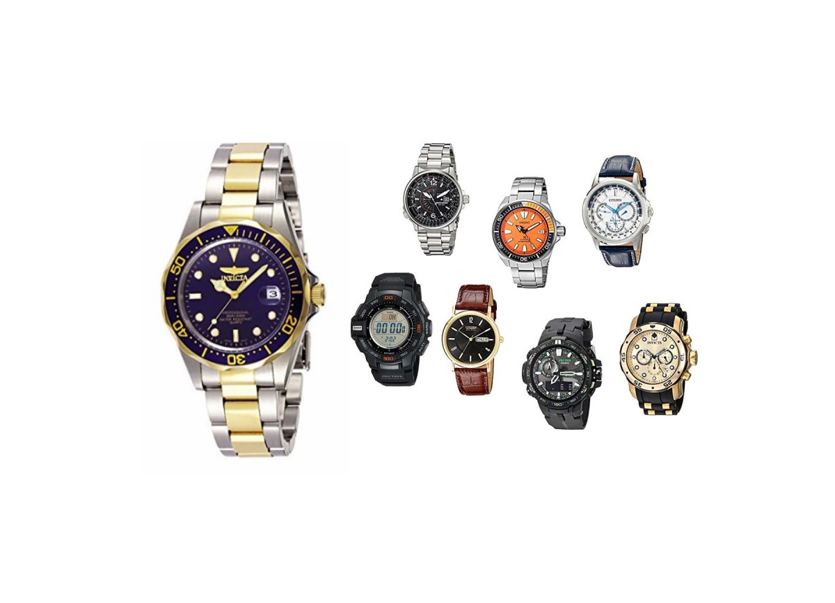 Invicta Men's 8935 Pro Diver Collection Two-Tone Stainless Steel Watch for $33.99 at Amazon