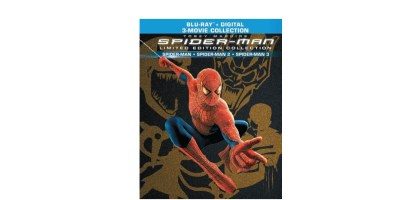 Spider-Man Trilogy Limited Edition Collection [Blu-ray] [2 Discs]