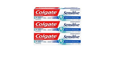 3-Pack 6oz Colgate Sensitive Complete Protection Toothpaste