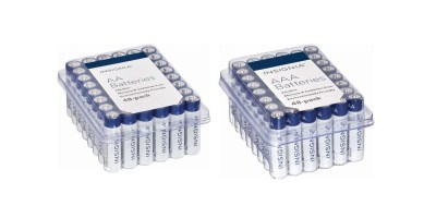 Insignia AAA & AA Batteries (48-Pack)