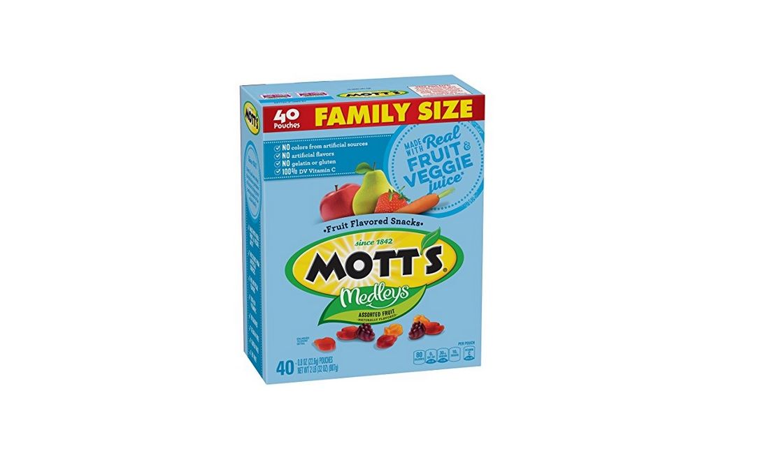40 Pack Mott's Medleys Fruit Flavored Snacks for $4.12 at Amazon with Subscribe & Save