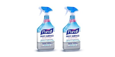 PURELL Multi-Surface Disinfectant Spray – Fragrance Free, 28 oz. Spray Bottle (Pack of 2)