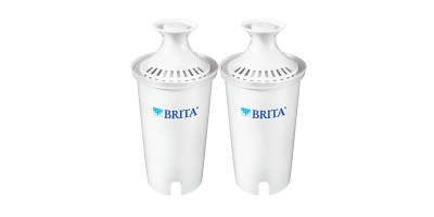 2 Count Brita Standard Replacement Filters for Pitchers and Dispensers (BPA Free)