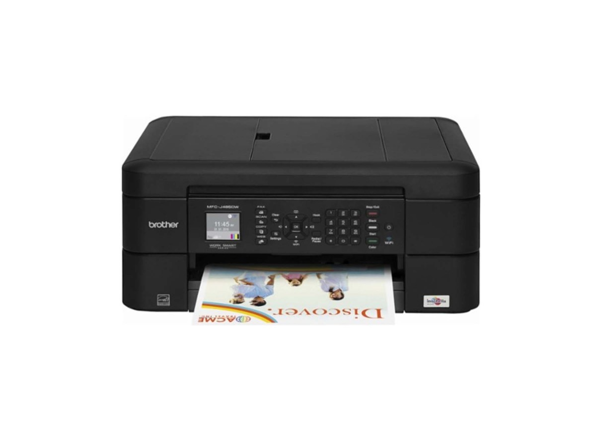 Brother MFC-J485DW Wireless All-In-One Printer for $49.99 at Best Buy