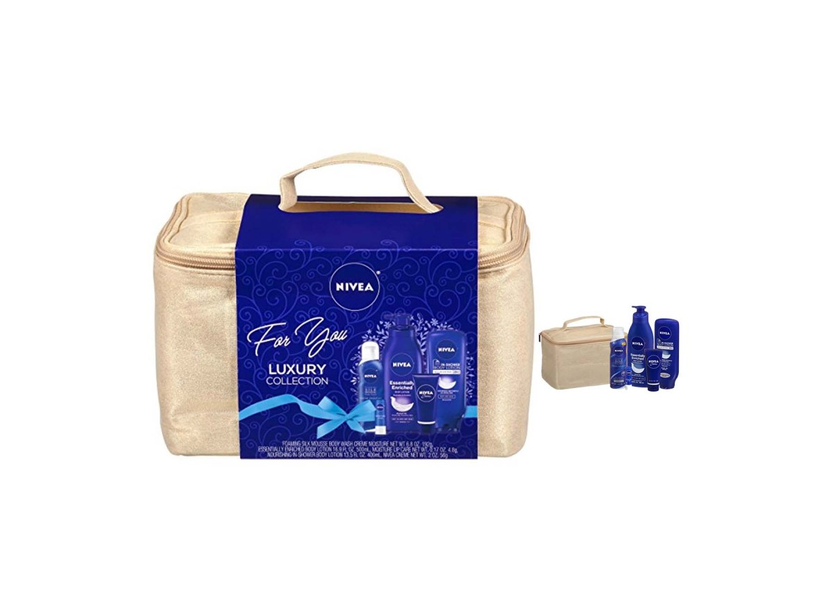 5 Piece Nivea Luxury Collection Gift Set for $15 at Amazon