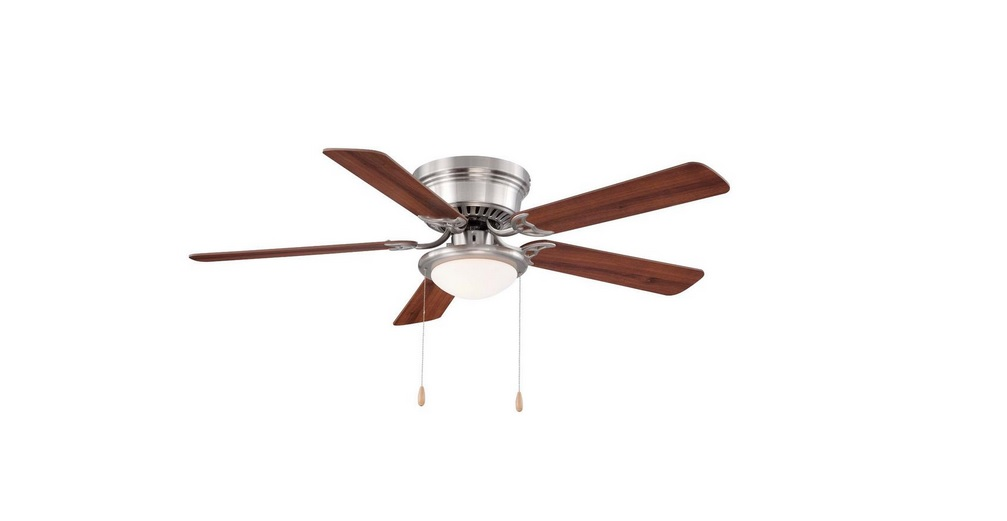 LED Indoor Brushed Nickel Ceiling Fan With Light Kit For $39.97 At The Home  Depot