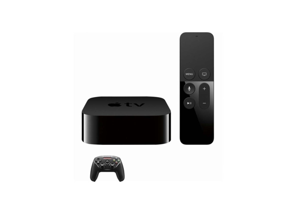 Apple TV 4K 64GB (Latest Model) with SteelSeries Nimbus Wireless Controller for $199.98 at Best Buy