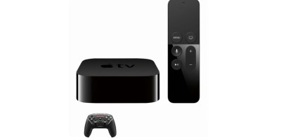 Apple – Apple TV 4K 64GB (Latest Model) with SteelSeries Nimbus Wireless Controller