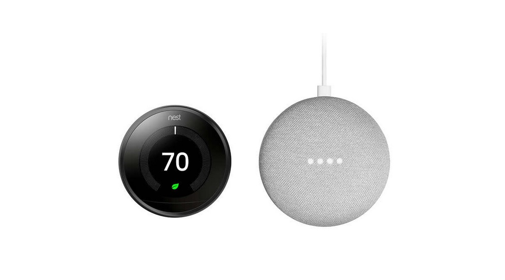 Nest Thermostat 3rd Generation and Google Mini Bundle for $169.99 at Costco (Members Only)