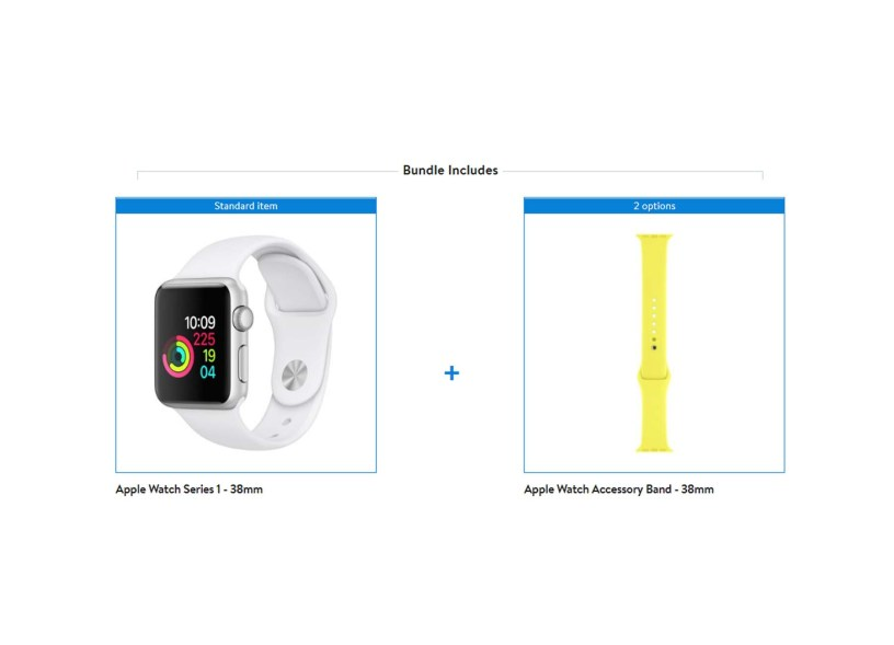 Apple Watch Series 1 (38mm) + extra band