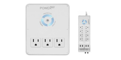 Panamax – Power 360 6-Outlet Wall Tap Charging Station