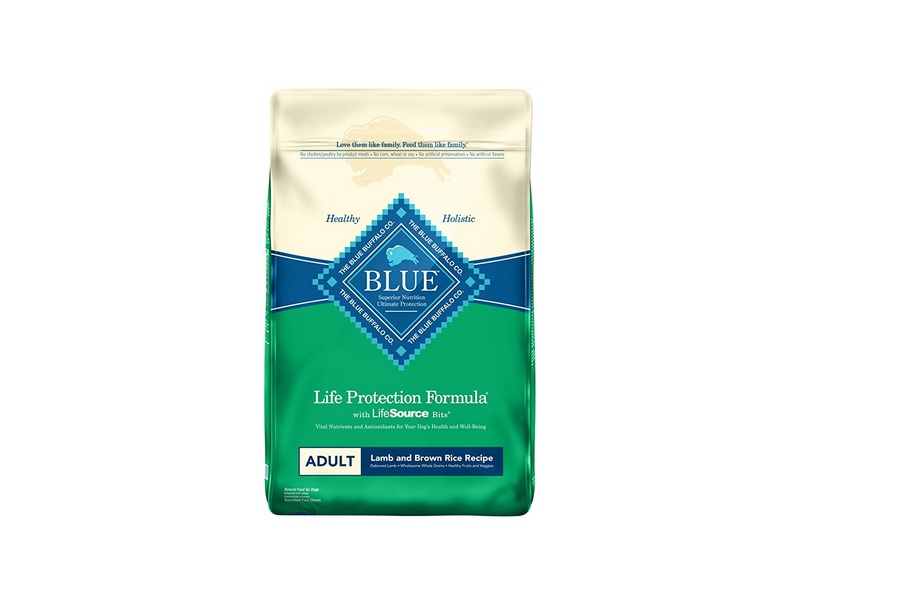 30 lb Blue Buffalo Life Protection Formula Natural Adult Dry Dog Food, Lamb and Brown Rice for $36.74 at Amazon