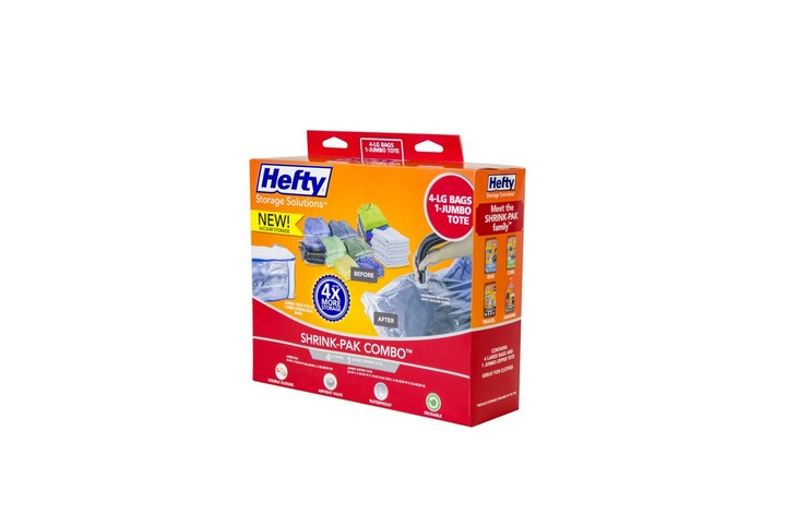 Hefty Shrink-Pak Vacuum Seal Bags for $8.94 at Walmart
