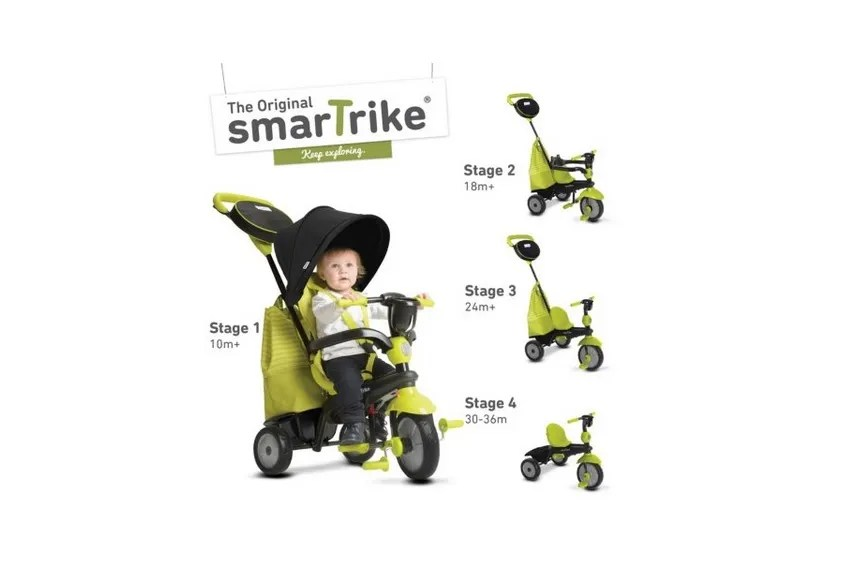 4-in-1 smarTrike Swing DLX Trike for $59.91 at Sam's Club