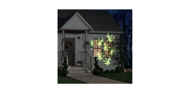 Halloween Lightshow Projection Whirl-a-Motion Witch