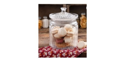 The Pioneer Woman Adeline Clear Glass Cookie Jar