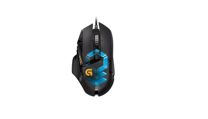 Logitech G502 Proteus Spectrum Wired Optical 11-Button Scrolling Gaming Mouse w RGB Lighting