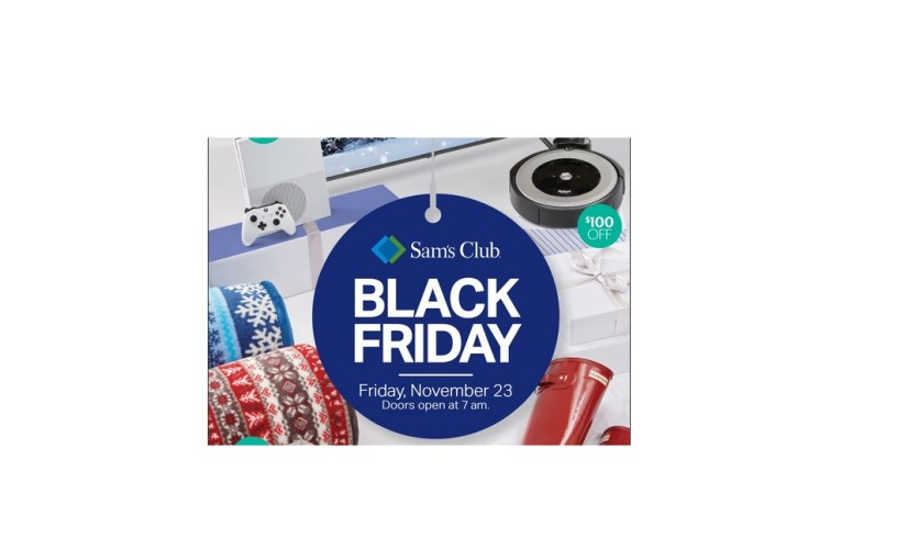 Sam's club Black Friday 2018
