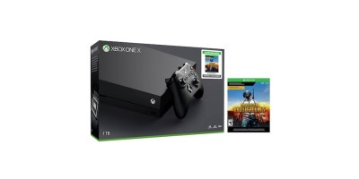 Xbox ONE X 1TB w PlayerUnknown's Battlegrounds Digital Download Game Bundle