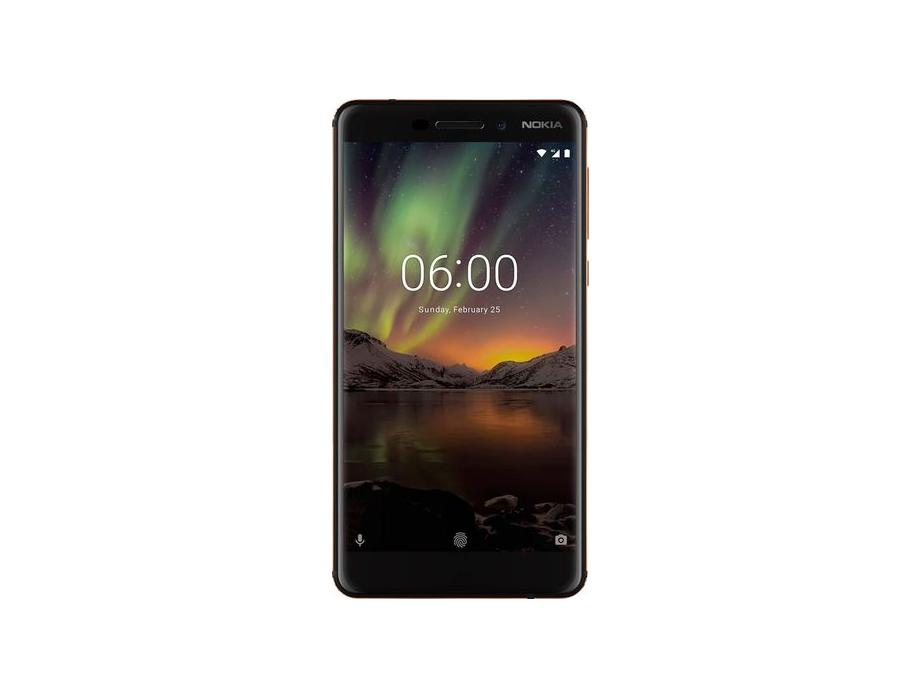 Nokia  6.1 with 32GB Memory Cell Phone (Unlocked)  Copper Black for $179.99 at Bestbuy