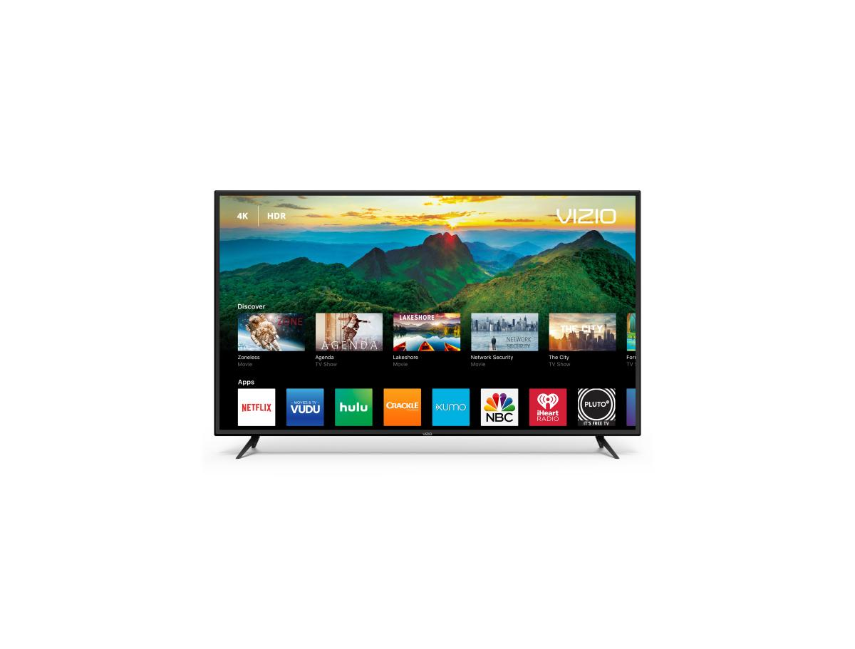 "VIZIO 60"" Class D-Series 4K (2160P) Ultra HD HDR Smart LED TV (D60-F3) (2018 Model) for $350 at Select Walmart Stores"