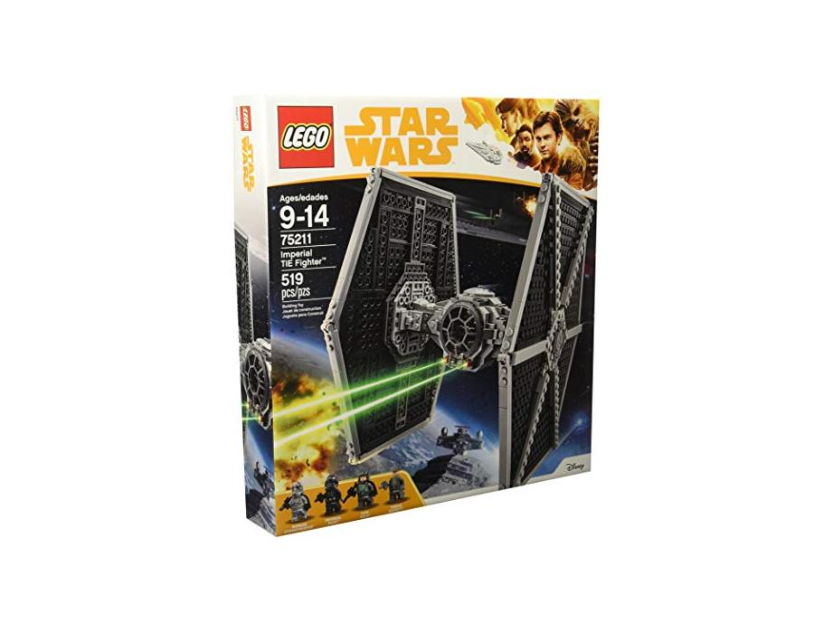 LEGO Star Wars Imperial TIE Fighter 75211 Building Kit (519 Piece) for $44.99 at Amazon