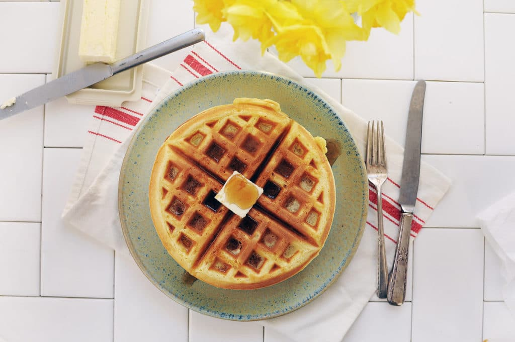 can you microwave waffles should you