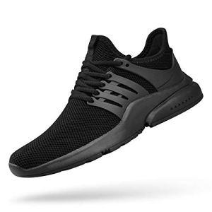 ZOCAVIA Mens Running Shoes Non Slip Tennis Shoes Mesh Lightweight Gym...
