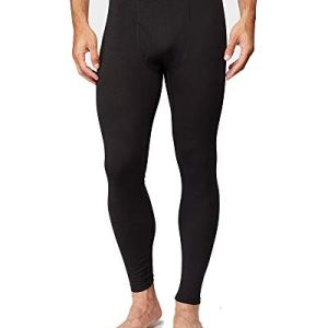 32 DEGREES Mens Lightweight Baselayer Legging, Black. Size Medium