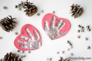 Salt Dough Handprint Ornaments Recipe