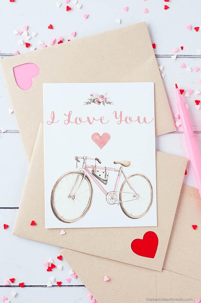 I Love You Printable Card